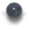 Semi-Precious 6mm Round Sodalite